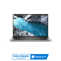 """Dell XPS 17 9700, Core i7-10875H, 32GB RAM, 1TB SSD, Nvidia GeForce RTX 2060 6GB Graphics, 17"""" 4K+ Performance Ultrabook, Touchscreen, Silver"""