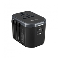 Porodo Dual Port Universal Travel Charger PD 18W+ QC3.0