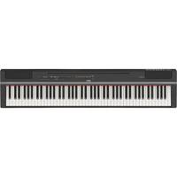 Yamaha P-125B 88-key Weighted Action Digital Piano, Black