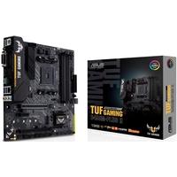 Asus TUF B450M-PLUS II Gaming Motherboard, AMD B450 (AM4) , 128GB Max, mATX, M. 2 Support, AI Noise-Canceling Mic, HDMI, DVI-D, USB 3.2 Gen 2