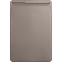 """Apple Leather Sleeve for 10.5"""" iPad Pro, Taupe"""