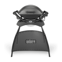 Weber Q 2400 Electric Grill with Stand, Dark Grey