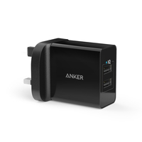 Anker 24W 2-Port USB Wall Charger
