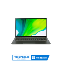 "Acer Swift 5, Core i5-1135G7, 8GB RAM, 512GB SSD, Nvidia GeForce MX350 2GB Graphics, 14"" FHD Ultrabook, Green"