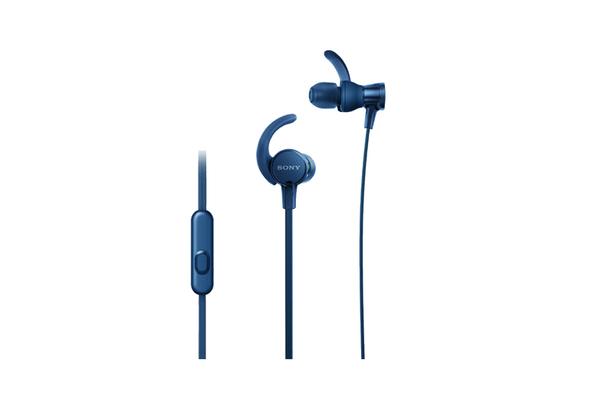 Sony MDRXB510AS In-Ear Sports Headphones, Blue