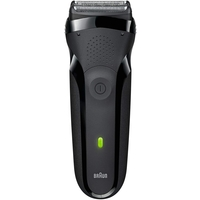 Braun Series 3 300s Rechargeable Electric Shaver For Men, Black
