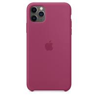 Apple iPhone 11 Pro Max Silicone Case,  Pomegranate