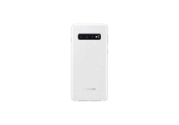 Samsung Galaxy S10 LED Back Cover, White,  White