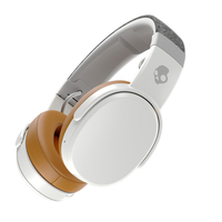 Skullcandy Crusher Wireless Over-the-Ear Headphones, Gray/Tan