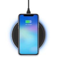 Adam Elements APAADQ1BKOG Wireless charging Pad, Grey
