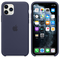 Apple iPhone 11 Pro Silicone Case, Midnight Blue