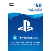 Sony Wallet top up 50 USD