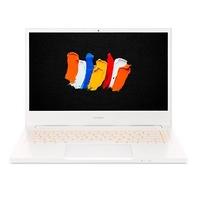 "Acer ConceptD, Core i7-10750H, 16GB RAM, 1TB SSD, NVIDIA Quadro T1000 4GB Graphics, 14"" FHD Ultrabook, White"