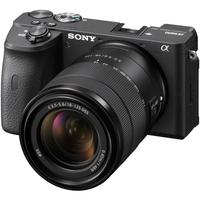 سوني ألفا a6600كاميرا رقمية مع عدسة 18-135 ملم