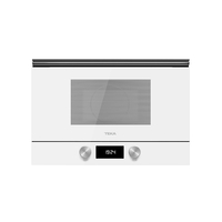 Teka 22 Liters Built-In Microwave with Grill ML 822 BIS L White, 3 Cooking functions, Ceramic base