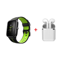 Xcell G1 Watch with Soul 2 Pro Airpods,  Green