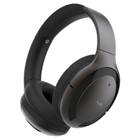 Play Go BH70 AI Based Headphones with Hybrid Active Noise Cancellation,  Medallion Brown