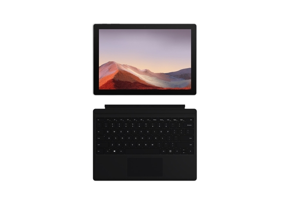 Microsoft Surface Pro 7 i7 10th Gen 16GB, 1TB 12.3  (2020) Laptop with Black Type Cover, Platinum
