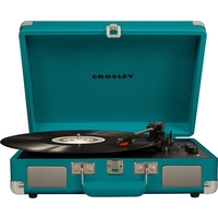 Crosley CR8005D-TL Cruiser Deluxe Turntable, Teal