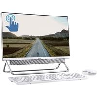 """Dell Inspiron 5000 AIO, 8GB RAM, 1TB HDD+ 256 GB SSD, 23.8"""" , Silver"""
