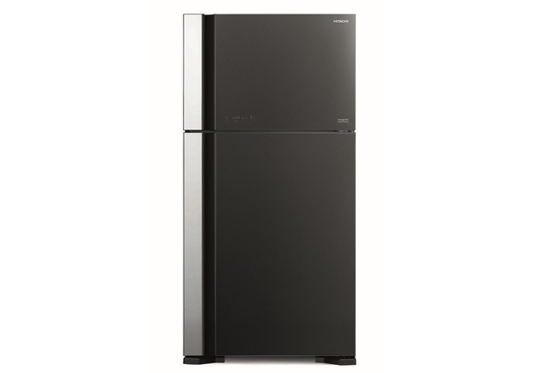 Hitachi RVG760PUK7GGR 760L Top Mount Refrigerator, Glass Gray
