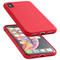 CELLULARLINE Soft Touch Back cover for Apple iPhone Xs Max, RED