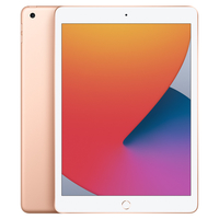 "Apple iPad 8th Gen 2020 10.2"" Wi-Fi,  Gold, 128 GB"