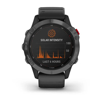 Garmin Fenix 6 Pro Solar Edition Slate Grey with Black Band