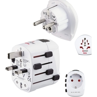 Hama HAM-128200 World PRO Plus World Travel Adapter Plug