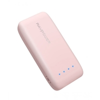 RAVPower 6700mAh Premium Portable Power Bank,  Pink
