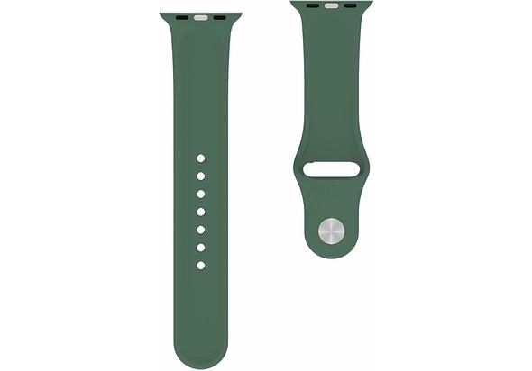 BeHello Premium Apple Watch Silicone Strap 38/40mm, Green