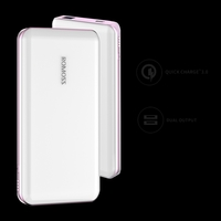 Romoss Eternity Pro With Qc3.0 /Usb C 10000Mah Power Bank - White