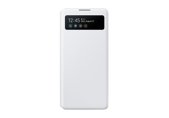 Samsung Galaxy S10 Lite S View Wallet Cover,  White