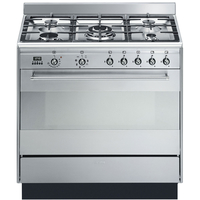 Smeg SUK91MFX9 Combination Cooker 90 cm