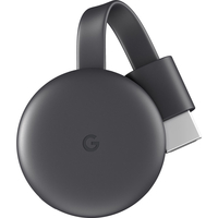 Google Chromecast 3rd Generation, Charcoal