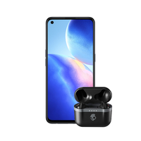 Oppo Reno 5Z 8GB, 128GB Smartphone 5G, Blue with Skullcandy Indy Evo in Ear True Wireless Earbuds Black
