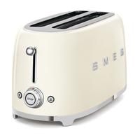 Smeg TSF02CRUK 4 Slice Toaster, Cream