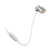 JBL T290 Premium wired in-ear headphones, Silver
