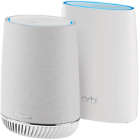 Netgear RBK50V Mesh WiFi System with Orbi Voice Smart Speaker