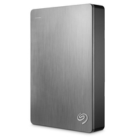 Seagate 5TB Backup Plus Portable Hard Drive, Silver