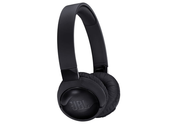 JBL T600BT Wireless On-ear Active Noise Cancelling Headphones,  Black