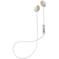 Marshall Minor II Bluetooth In-Ear Headphones, White
