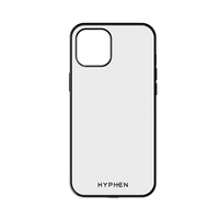 Hyphen Clear Black Frame Case iPhone 12 - 6.7""