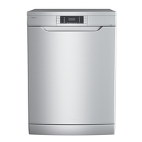 Teka 60 cm Free Standing Dishwasher LP9 850, 8 Programs, 14 Place Settings, Stainless steel