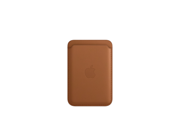 Apple iPhone Leather Wallet with MagSafe, Saddle Brown