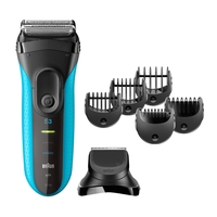 Braun 3010BT Series 3 Shave&Style 3-in-1 Electric Wet&Dry Shaver with Precision Trimmer