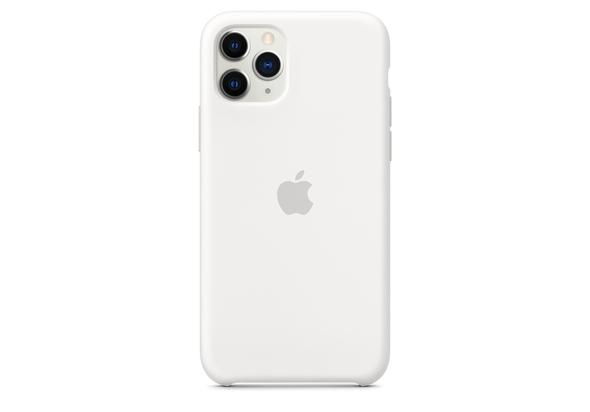 Apple iPhone 11 Pro Silicone Case, White