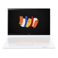 """Pre Order Acer ConceptD 7 Ezel Pro Xeon W, 32 GB, 1TB SSD+ 1TB SSD, 16GB Quadro RTX 5000, 16GB Graphics, 15.6"""" 4K UHD Laptop with Touch with Pen, White"""