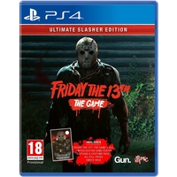 Sony PlayStation 4 Friday The 13th: The Game Ultimate Slasher Edition