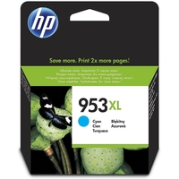HP 953XL High Yield Original Ink Cartridge, Cyan